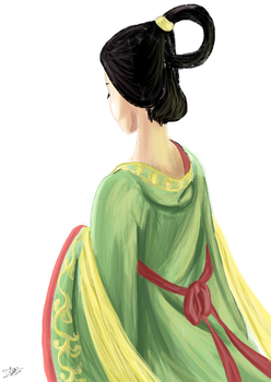 Tang Woman by TheLittleVoca