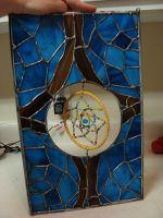 Stained Glass Dreamcatcher by Raventalker