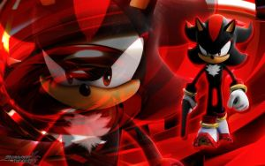 Shadow The Hedgehog Wallpaper by SonicTheHedgehogBG