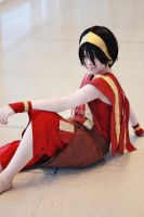 Chillin - Toph Cosplay by Kawaii-Kioko