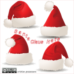 Santa Claus Hats by ilnanny