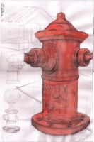 FAD Assignment - Hydrant by crushing83