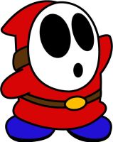 Vector Shy Guy by acer-v