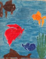 My fishies by LaDeary