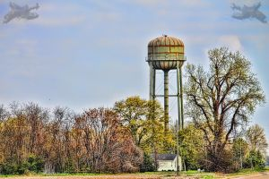 Water Tower by Rebelmoon