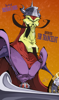 Ghostbusters - Sir Trancelot by BrendanCorris