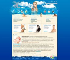 Template for site salon's of beauty by MaxvelDrey
