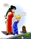3Guardians in Chinese Attires by SailorEnergy