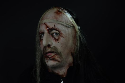 Victim mask from Rob Zombie's The devil's rejects. by Justin-Mabry
