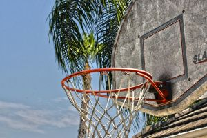 Basketball Hoop HDR by SomeoneNamedTom
