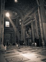 Rome in duotone. Vatican IV by crelight