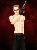 Shirtless Wesker by Grace-Zed