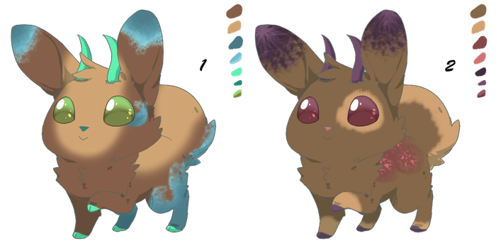 Jackalopes 0021-0022 by GreywaterAlley