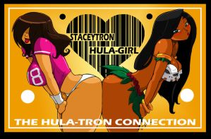 THE HULA-TRON CONNECTION by ShoNuff44