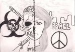 War Vs. Peace by angelettediana11