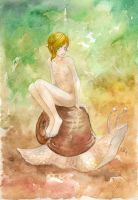 boy on the snail by mirt