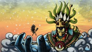 Serge - Almighty Huitzilopochtli by Team4Taken