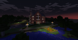 Theta Chi Phi House in Minecraft by Zach76