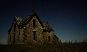Abandoned House Kansas c.1890 by oxecotton