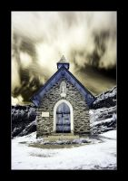 Little church on mountain by Torsten-Hufsky
