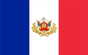 France State Flag by Rory-The-Lion