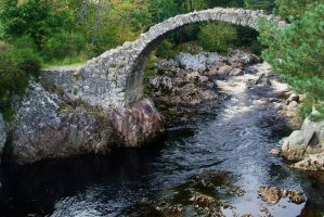 17th Century Bridge still standing in Scotland by Vincent-Malcolm
