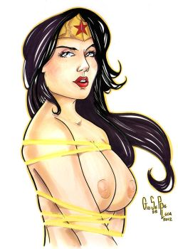 Wonder Woman nude 01 by artofdeluca