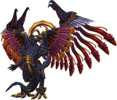Bahamut FFX by candycanecroft