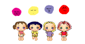 Naruto babies by pokings