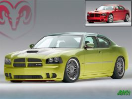 Dodge Charger XTRA by ddvs1
