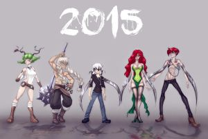 A new year with the gardeners by Imoon90