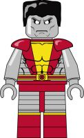 Colossus LEGO by orcsan