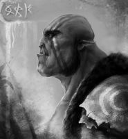 orc by TagoVanTor