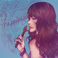 Happiness by LeSpork