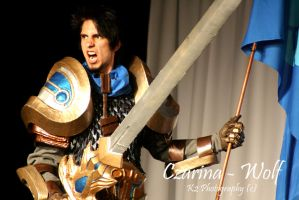 League of Legends Garen by Czarina-Wolf
