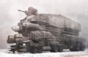 aRMORED tRANSPORT by ShamanX