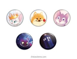 Pinback Buttons by autogatos