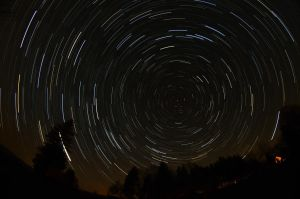 My first Startrail by Cassini246