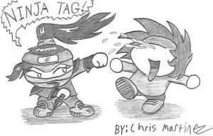Tagged by a Ninja... by ChrisCrossLive