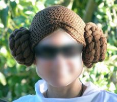 Star Wars Princess Wig by maggieambi