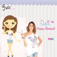 Doll Martina Stoessel ByIsaEditionS by SuspiroEditionS