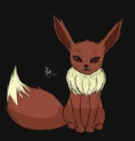 Eeveelution - Eevee by 12bubbles12