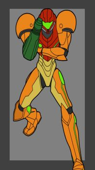 Samus by Calltrix