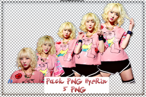 Pack PNG #143: EXID's HyeRin by jimikwon2518