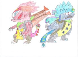 THE GREAT FAKEMON MASCOTS by GamingDylan