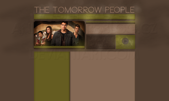 Layout: The Tomorrow People by iseayoubeach