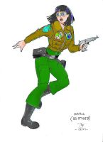 Maria, spacer and soldier by leviadragon99