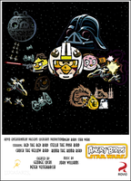 Angry Birds Star Wars Movie Poster by Jeremiekent13