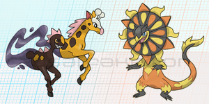 Mega Evolutions by Zosai
