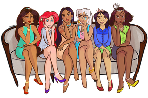 Disney Ladies by Ghelley